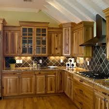 Hickory Kitchen Cabinets Pictures by Matching Your Kitchens With Wood Floors And Cabinets Artbynessa