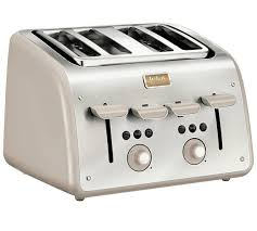 Tefal Sandwich Toaster Buy Tefal Maison 4 Slice Toaster Grey At Argos Co Uk Your