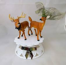 buck and doe wedding cake topper deer cake toppers shop deer cake toppers online