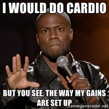 Cardio Meme - why cardio sucks and what you should do instead