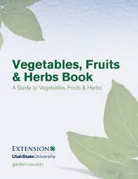 octoraro native plant nursery vegetables fruits and herbs book by utah state university