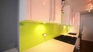 Kitchen Glass Backsplash Ideas by Glass Painted Backsplash For Kitchen New York Youtube