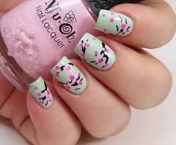 pretty simple sakura design u2013 best cute u0026 easy short nail trend