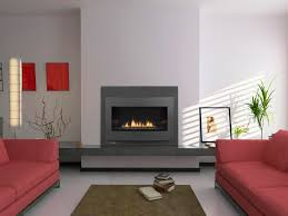 tremendous contemporary fireplace with gas insert ideas with wall