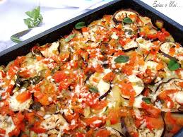 recette de cuisine a base de pomme de terre tiella pommes de terre aubergines tomates origan épices moi