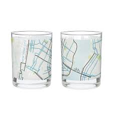 Austin Mn Map by City Map Glass City Glass New York Chicago San Francisco