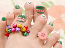 toe nail art designs for christmas 2012 all dolled up