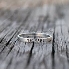 customized rings with names stacking rings with names products on wanelo