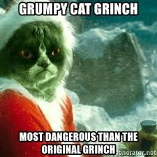 Original Grumpy Cat Meme - grinch grumpy cat meme generator