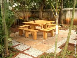 Picnic Table Bench Combo Plan Pallet Picnic Table Diy Octagon Designs Folding 31576 Interior