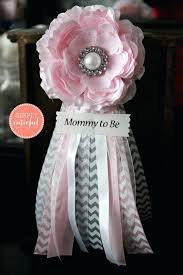 corsage de baby shower como hacer corsage baby shower nino to be baby