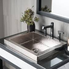 polished nickel sinks native trails