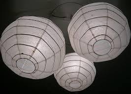 Paper Lantern Chandelier Bamboo Lantern Chandelier Chandelier Ideas