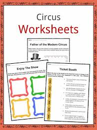 circus facts worksheets u0026 historic information for kids