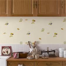 modele papier peint cuisine interieur design peinture