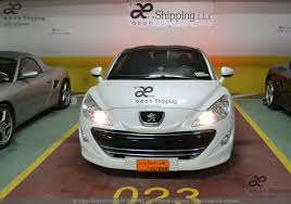 peugeot dubai car shipping exporting importing sending land transportation