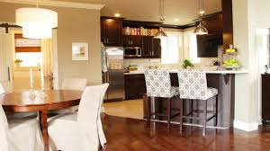 create the comfortable seating with kitchen bar stools island