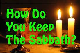 how do you observe the sabbath