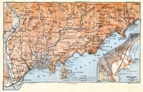 monte carlo map map of monaco and monte carlo with and vicinity in 1900