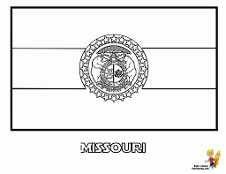 Montana State Flag Missouri State Flag Coloring Page Aecost Net Aecost Net