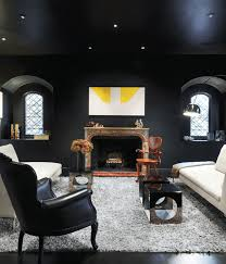 paint colors for living room walls with dark furniture black paint colors schemes for modern living room