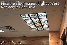 Glass Ceiling Light Covers Fantasy Stained Glass 2ft X 4ft Drop Ceiling Fluorescent