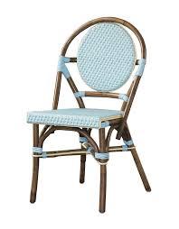 Blue Bistro Chairs Padma S Plantataion Bistro Chair Blue Kitchen