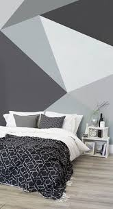 convex wall mural monochrome bedroom bald hairstyles and living
