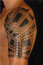 tribal band tattoos for men mens shoulder tattoo tattoo ideas