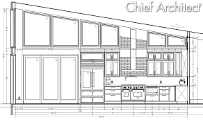 Standard Measurement Of House Plan by Chief Architect Home Design Software Samples Gallery