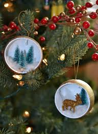 Homemade Christmas Tree Ornaments by Deer And Christmas Tree Ornament Rachel Teodoro