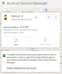 android device manage android device manager is now live track and ring any of your