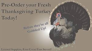 order fresh turkey