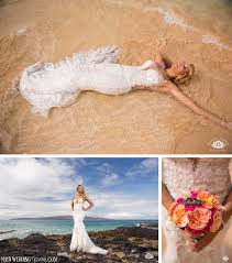 trash the dress trash the dress shoot makena cove maui hawaii