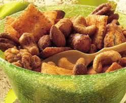 easy crock pot roasted spiced nut mix recipe darlene michaud