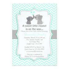 babyshower invitations elephant baby shower invitations announcements zazzle