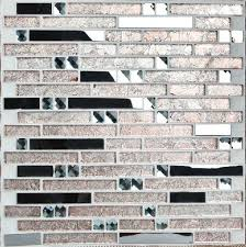 kitchen backsplash stainless steel tiles interlocking stainless steel tiles glass mosaic kitchen backsplash