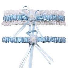 Wedding Garters Blue Bridal Garters Ebay