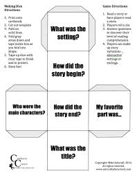 printable question dice famous folding cube template pictures inspiration entry level