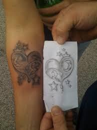 heart tattoo by fenoix on deviantart