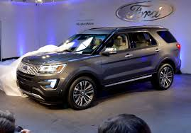 suv ford explorer ford debuts new explorer model fortune
