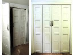 Closet Door Hardware Best Folding Closet Doors Three Dimensions Lab