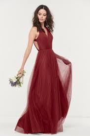 burgundy bridesmaid dresses 25 burgundy bridesmaid dresses brides