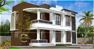 Home Exterior Design Kerala Modern 1500 Sqft House Exterior Home Kerala Plans Single Level