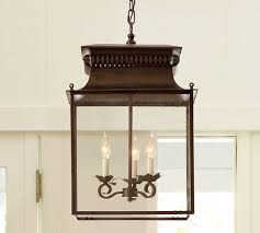 Pottery Barn Lantern Chandelier A Loss A Gain And An Update Pottery Barn And Lights