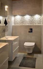 bathroom with soft tones interiors by decom chocolate brown