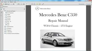 mercedes benz c350 w204 manual de taller workshop repair