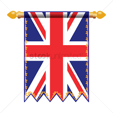 Banners Flags Pennants United Kingdom Flag Pennant Vector Image 1574098 Stockunlimited