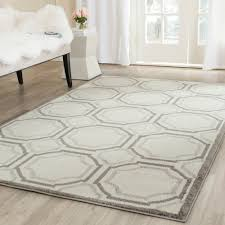 Gray Rug 8x10 Floors U0026 Rugs Contemporary Ivory Light And Grey 8x10 Area Rugs
