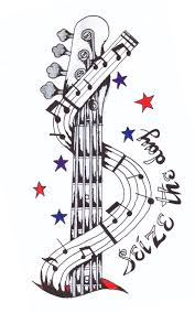 music themed graphics and illustrations music themed tattoo design